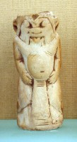 14. Bes Handle, 19th Dynasty