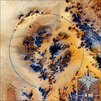 Kebira crater NASA