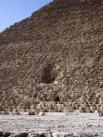 Figure 5. North face of the Great Pyramid