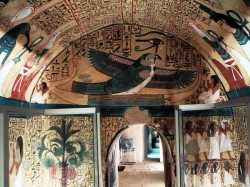 Figure 26. Tomb of Pashed. 19th Dynasty. Photograph courtesy of Osirisnet