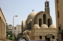 Figure 4. The Coptic Cathedral of St. Mark Cairo