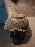 Hatshepsut presenting nw pot to Amun Re, Metropolitan Museum of Art. By Verne Appleby