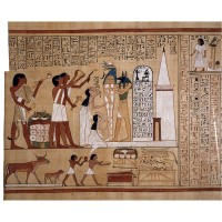 Figure 15. The Opening of the Mouth ceremony put the power of spoken magic at the command of the deceased.