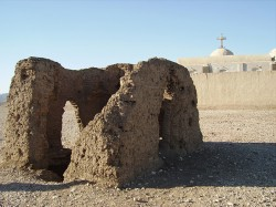 Figure 7. Hermitage cell at St Buqtor Naqada region Howard Middleton-Jones 2008