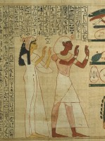 Book of the Dead of Herihor and and his wife.