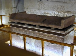The tomb of Horemheb (1857) by Jean-Pierre Dalbéra