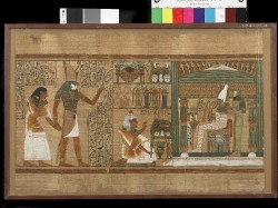 Papyrus of Ani. Copyright Trustees of the British Museum