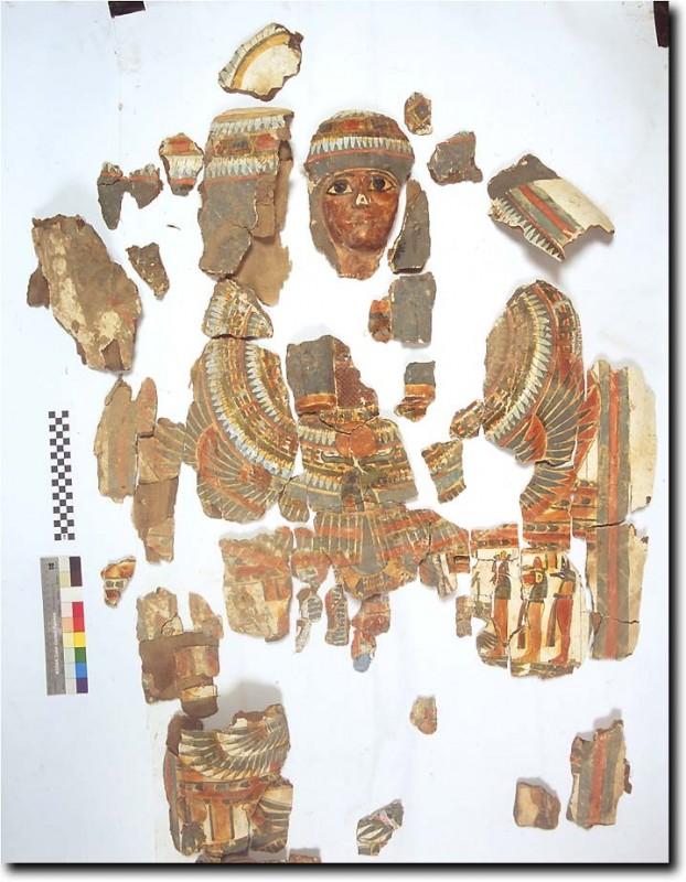 Cartonnage of Tabakmut from TT99. Copyright Nigel Strudwick