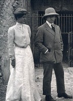 Figure 11. Weigall and his wife Hortense