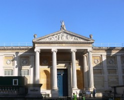 The Ashmolean Museum.  Photograph by Remi Mathis