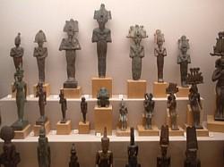 Copper Figurines, Ashmolean Museum 2004