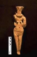 Figure 10-Clay Fertility Figure found inside demolished Silo