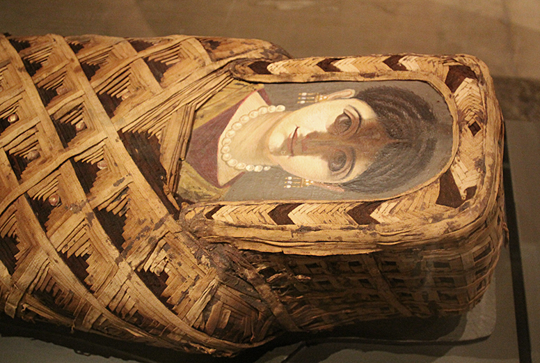 Mummy of a young woman