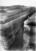 Trench in Southern Pyramid, Zawiyet el-Aran
