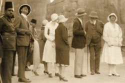 Figure 10. Queen Marie of Romania's visit to Egypt