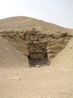 Figure 3 Amenemhet I Pyramid Entrance