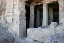 Figure 3. Tomb of Khunes (Howard Middleton-Jones 2010