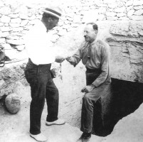 Figure 5. Howard Carter and Lord Carnarvon 1922