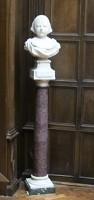 Purple porphyry column