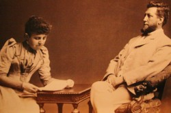 William Hesketh Lever and his wife Elizabeth