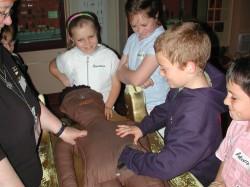 Children at the Egypt Centre